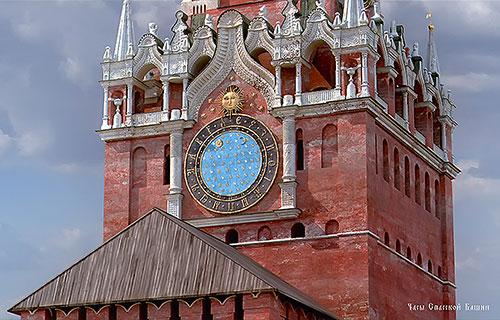 Часы на Спасской башне Кремля: история и фото